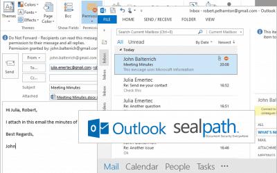 Protección de cuerpos de mensajes en email