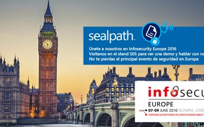 SealPath estará presente en Infosecurity
