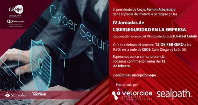 SealPath participa en la IV Jornada de Ciberseguridad en la Empresa