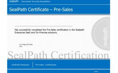Il secondo corso di certificazione Sealpath sarà disponibile a Milano il 19 giugno 2018