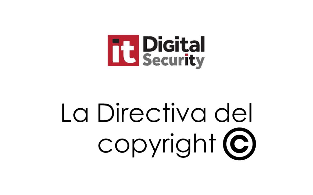 La Directiva del Copyright en opinión de Luis Ángel del Valle