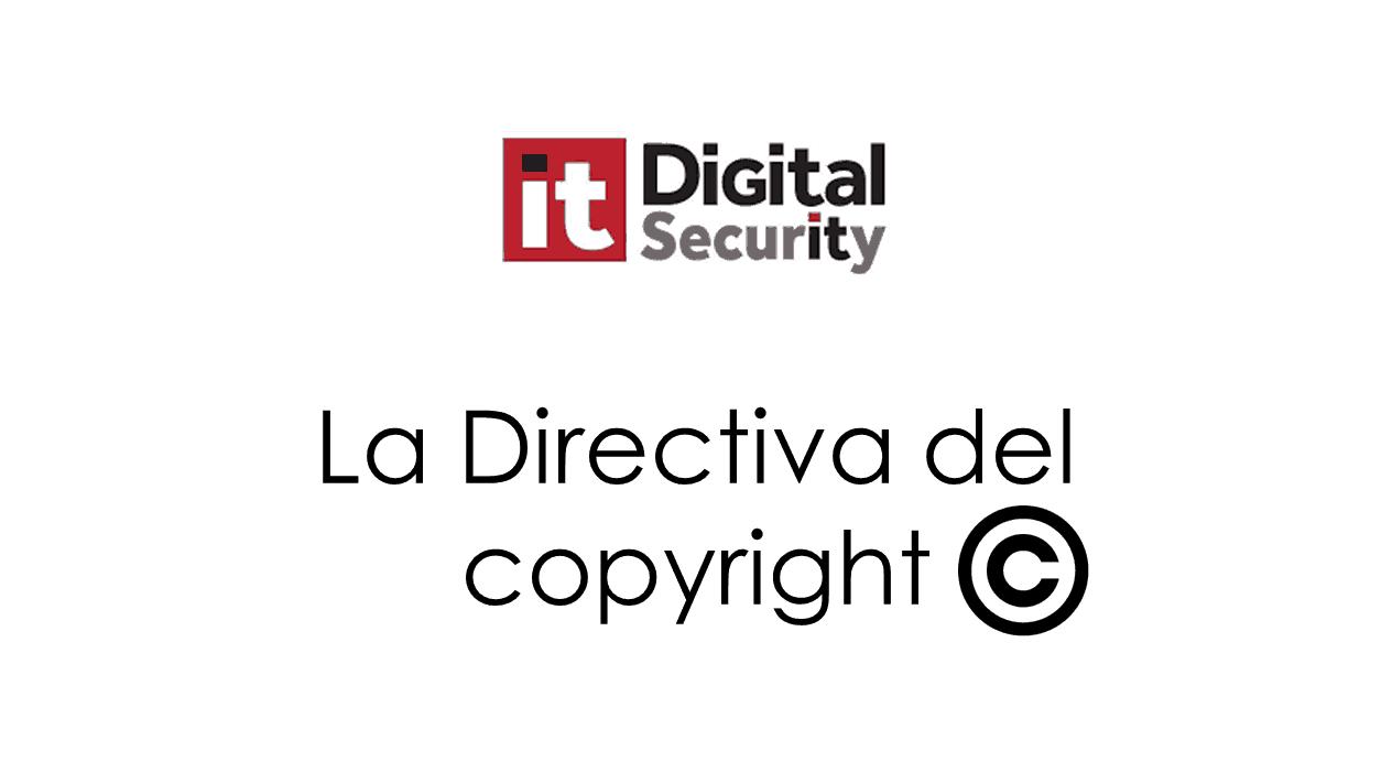 La directiva del copyright